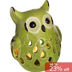 candle holder, owl
