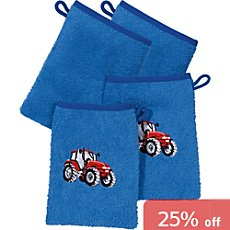 Kinderbutt  pack of 4 wash mitts