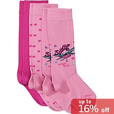 Kinderbutt  3-pk knee-high socks
