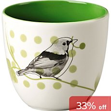 Hutschenreuther  candle holder, tanager
