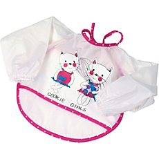 Fashy  2-pk bibs with sleeves