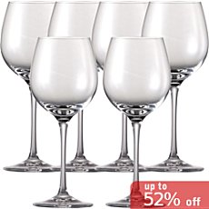 Rosenthal  6-pk red wine glasses
