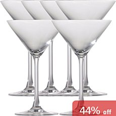Rosenthal  6-pk martini glasses