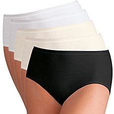 Pompadour  5-pk full brief panties