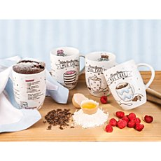 Pack of 4 Könitz mugs