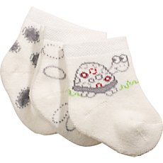 Baby Butt  3-pk newborn socks