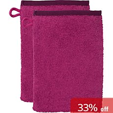 Kinderbutt  pack of 2 wash mitts