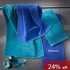 Erwin Müller  4-pc towel set incl. name embroidery