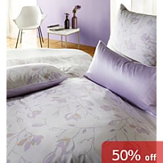 Curt Bauer interlock jersey reversible duvet cover set