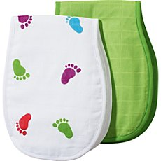 Baby Butt  2-pk burp cloths