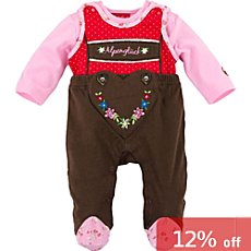 Bondi-Dress  dungarees set, 2-parts