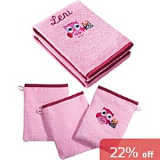 Kinderbutt  5-pc towel set