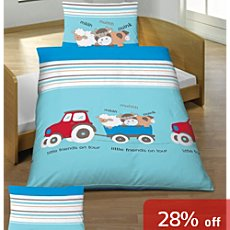Kinderbutt 3-pc toddler duvet cover set