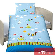 Baby Butt 3-pc toddler duvet cover set