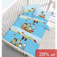 3-pc toddler duvet cover set, pirate