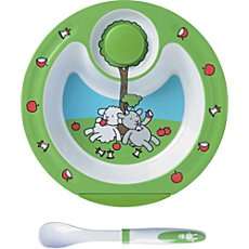 Emsa  stay-warm plate and spoon