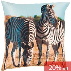 Erwin Müller cushion cover zebras