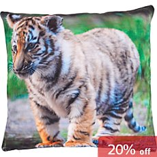 Erwin Müller cushion cover baby tiger