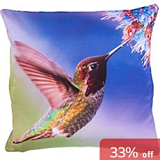 Erwin Müller cushion cover, hummingbird