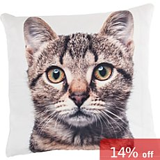 Erwin Müller cushion cover, cat