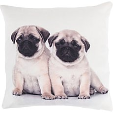 Erwin Müller cushion cover, pug