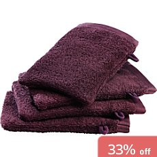 Erwin Müller  pack of 4 wash mitts