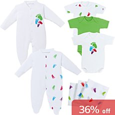 Baby Butt 8-pc clothing set