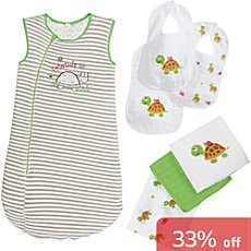 Baby Butt sleeping bag set, 7-parts