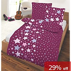 3-pc children duvet cover set, star