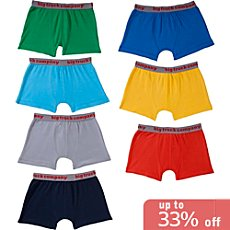 Kinderbutt  7-pk shorts