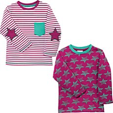 Kinderbutt  2-pk long sleeve t-shirts