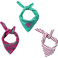 Kinderbutt  3-pk triangle scarves