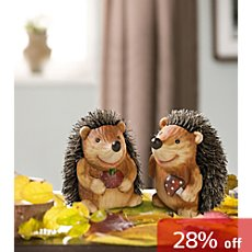 2-pk decor hedgehogs