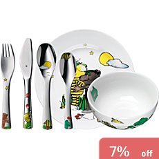 WMF children cutlery & tableware set, 7-parts