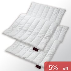 Centa-star  2-pk duo quilted duvets