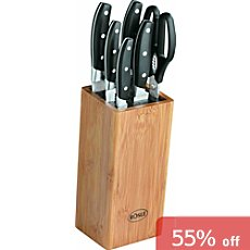 Rösle  knife block, 7-parts