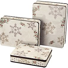 Pack of 3 Hutschenreuther tin cookie boxes