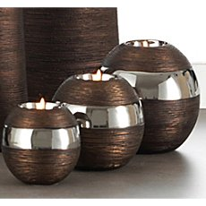 3-pc tea light holders