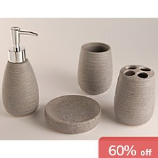 bathroom accessory set 4-parts