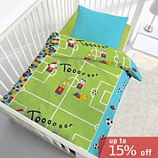Kinderbutt duvet cover set football