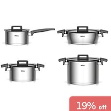 Woll  pot set, 8-parts