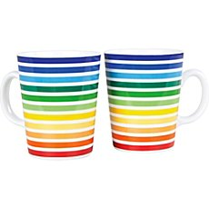 Gepolana  2-pk coffee mugs