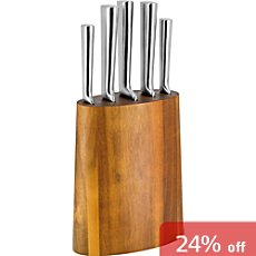 Kuppels  knife block, 6-parts