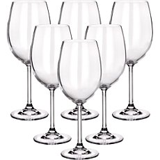 6-pk Bordeaux wine glasses