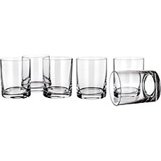 6-pk whisky glasses