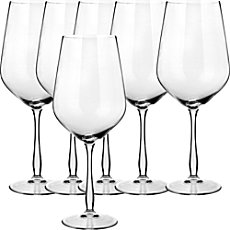 6-pk red wine glasses