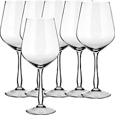 6-pk white whine glasses