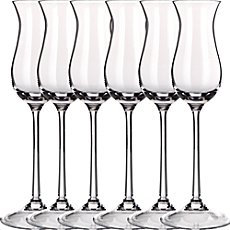 6-pk grappa glasses