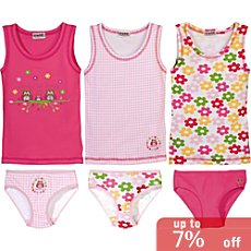 Kinderbutt  6-pc underwear set