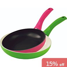 Kuhn Rikon  2-pc frying pan set